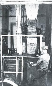 Záber zvýrobnej prevádzky továrne