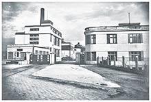 Areál Prvej slovenskej továrne na droždie lieh apokrmové masti  svilou