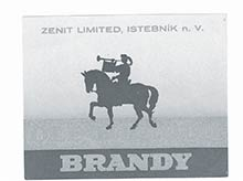 Prvá zachovalá etiketa OLD HEROLD  zroku 1937 slogom, ktoré sa používa dodnes