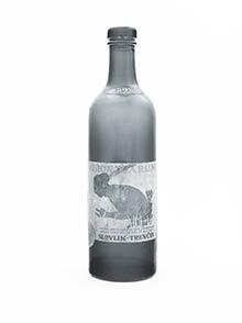Pôvodná fľaša RUM HURON