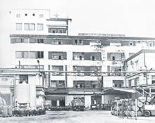 Budova droždiarne arafinérie liehu
