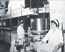 """Baliaca linka na droždie, tzv. """"liberkovačka"""" modernizovaná v70-tych rokoch"""