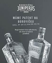 Borovička Juniperus - Národná cena za dizajn