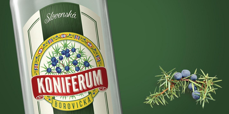 borovička koniferum original