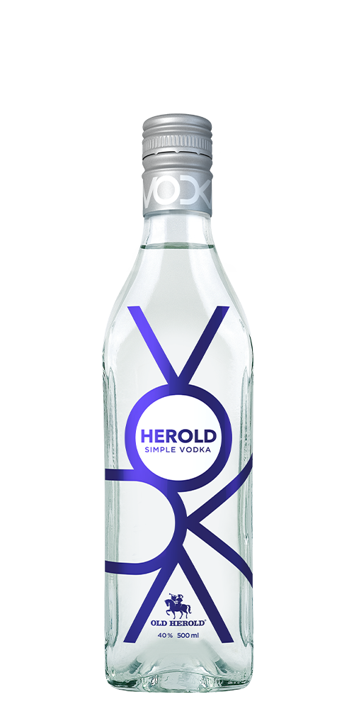 herold vodka simple 0,5 l