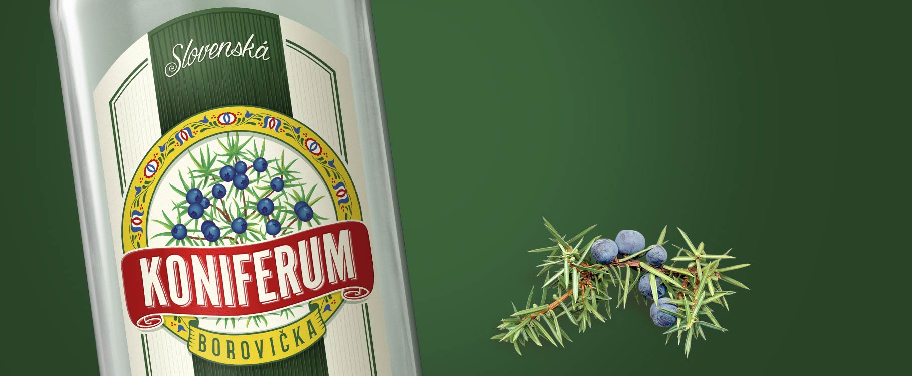 Koniferum borovička originál