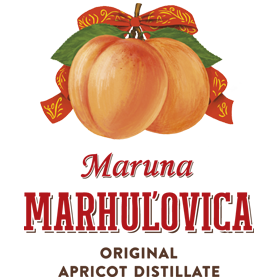 logo Maruna marhuľovica
