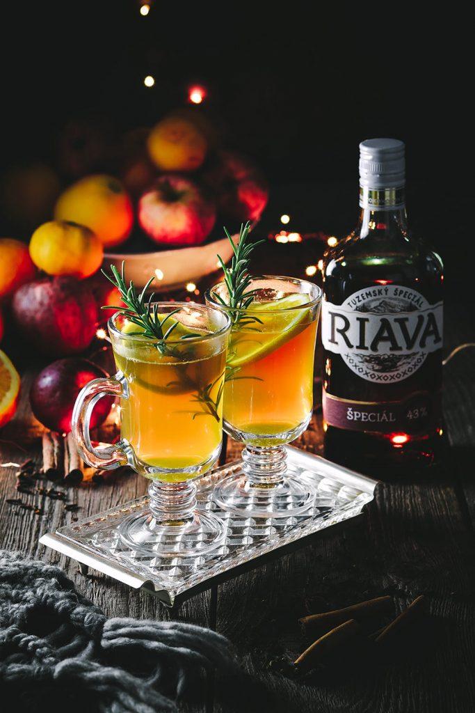 Horúci nápoj s Riavou