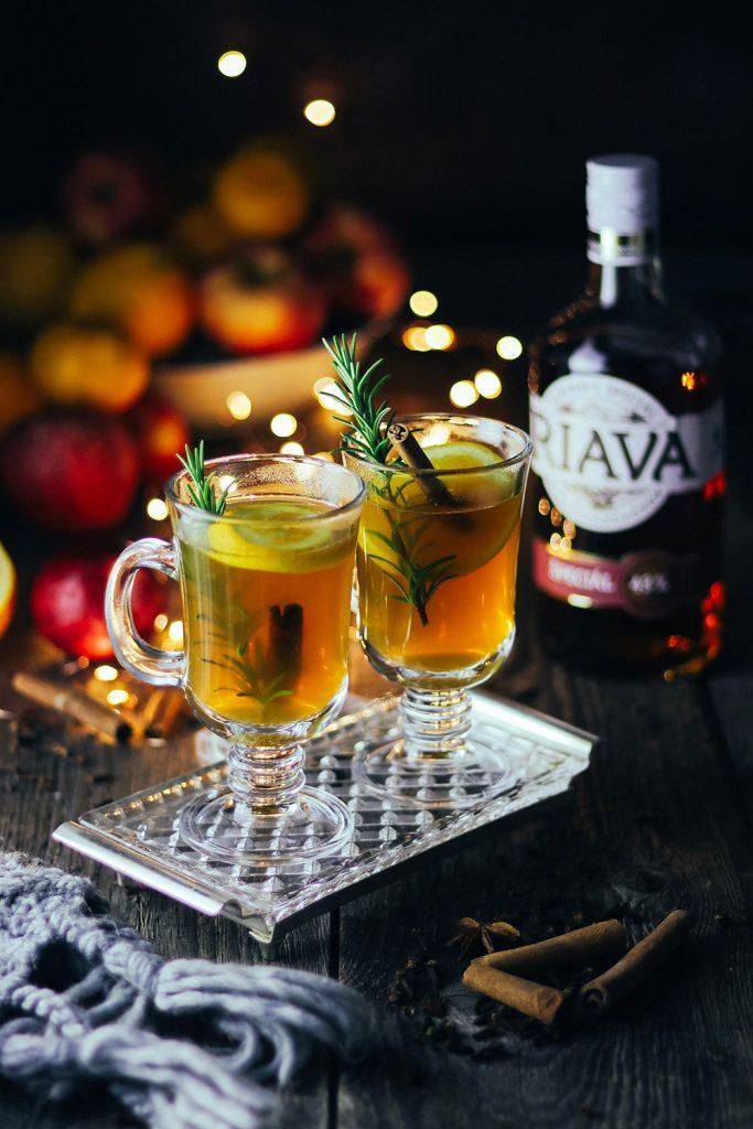 Príprava vianočného nápoja