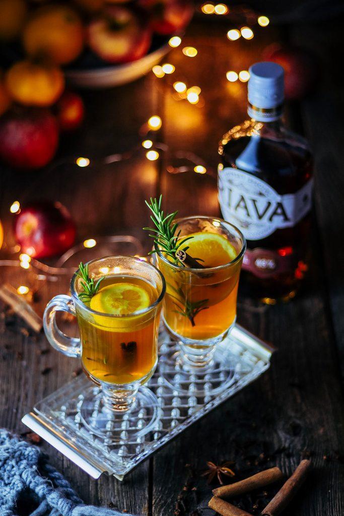 Recept na horúci nápoj s Riavou