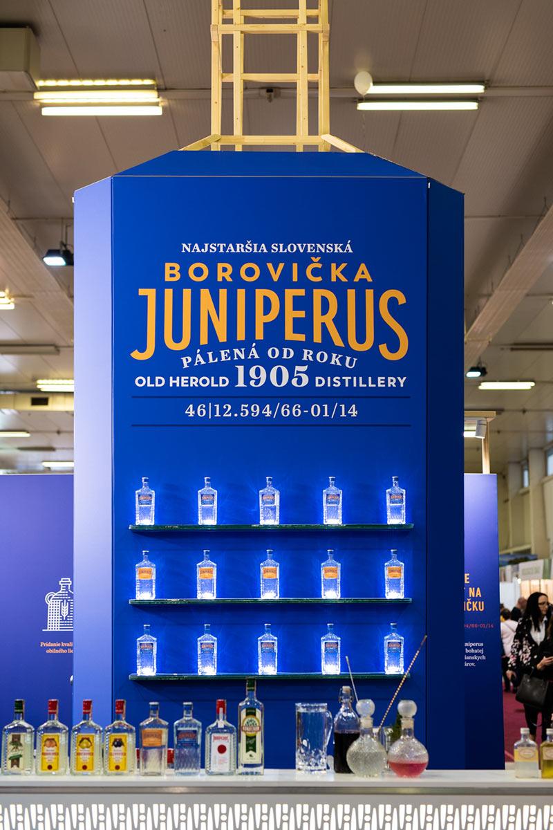 Stánok Juniperus na výstave v Bratislave