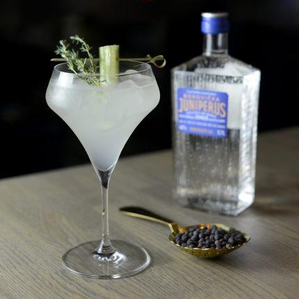 herbal fizz miešaný nápoj s borovičkou