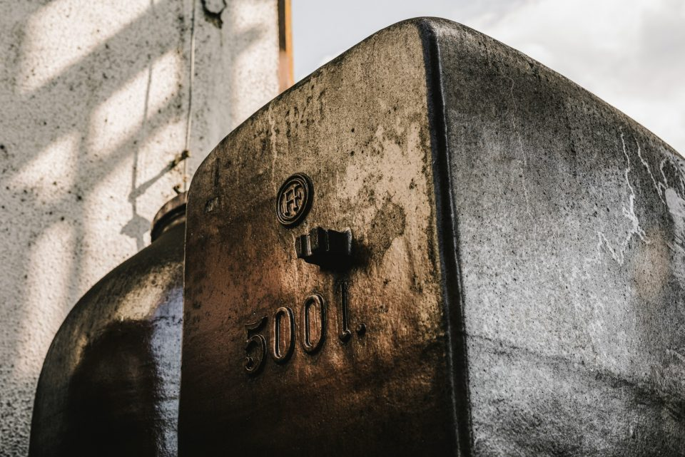 výroba alkoholu v liehovare Old Herold