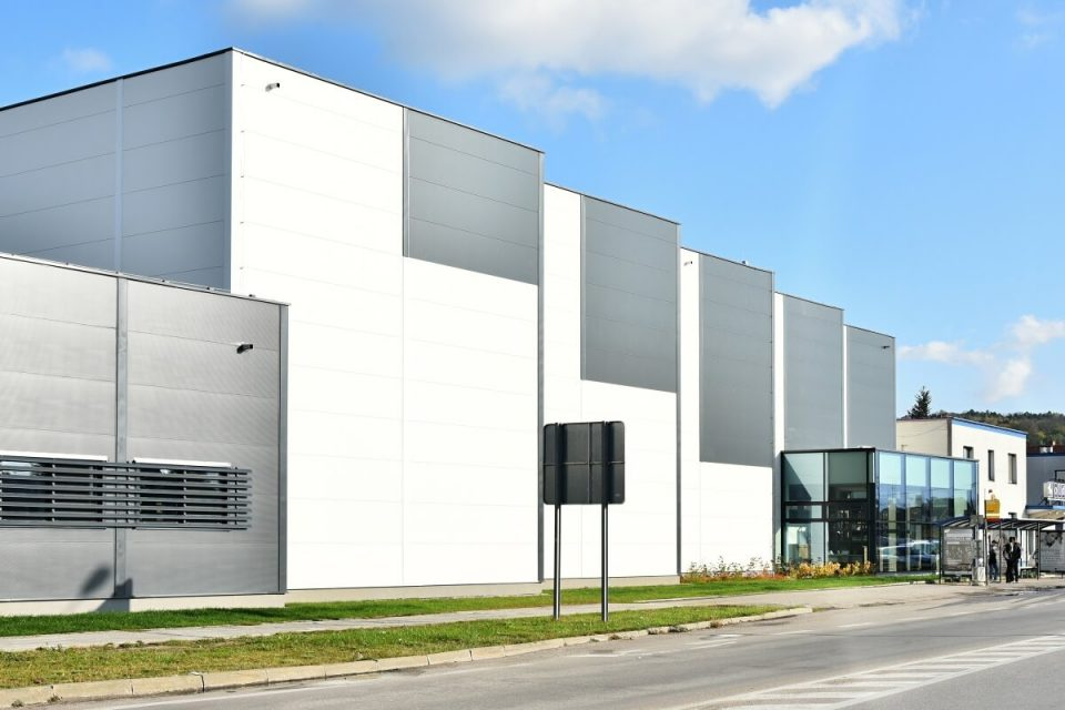 priemyselný areál spoločnosti Old Herold