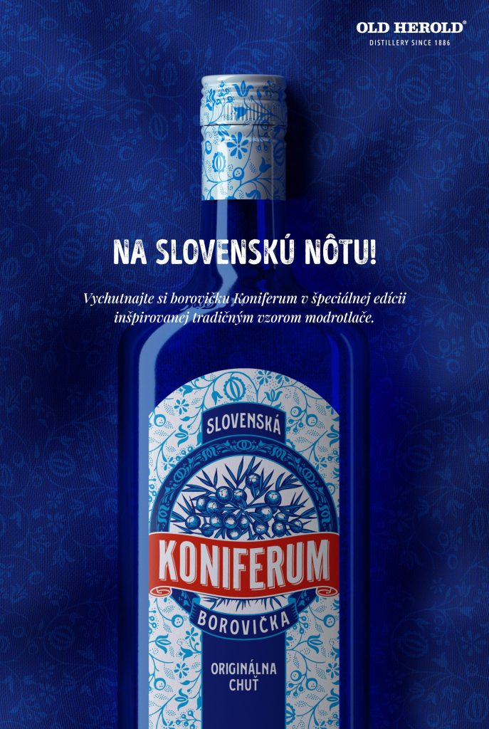 Koniferum borovička